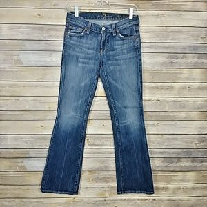 7 For All Mankind Flip Flop Bootcut Jeans